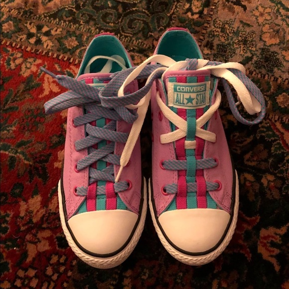 8043d1f19719  NEW  Girls Converse Loopholes Size 2.5
